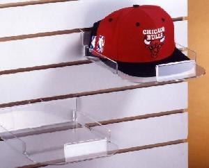 slatwall cap display acrylic