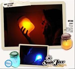 gadget light sun jar