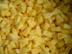 frozen pineapple diced