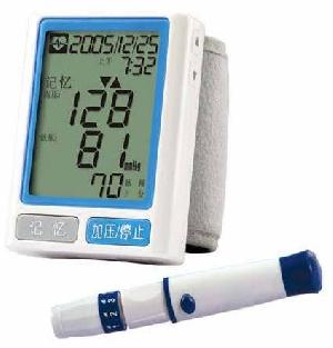 blood glucose pressure monitor