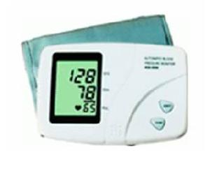 electronic blood pressure monitor arm