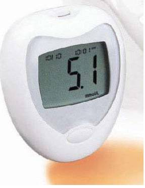 mm 003 blood glucose monitor