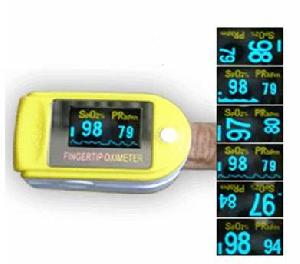 pulse oximeter display mode oled