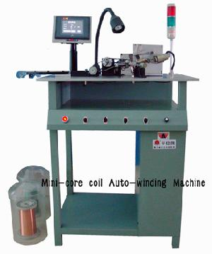 magnetic core coil winding machine