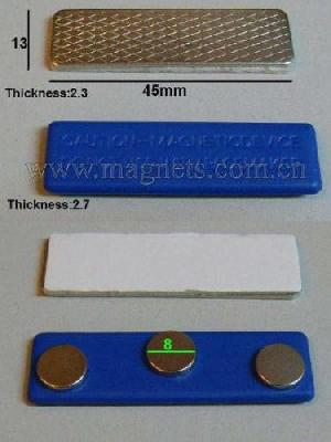 magnetic badges tags