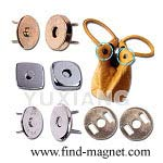 magnetic button snaps