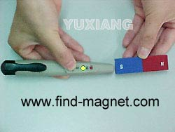 magnetic pole identifier