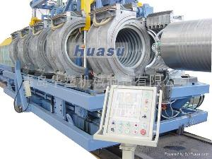 wall corrugated pipe line