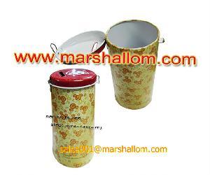 coin bank money box tin