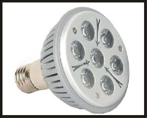 power led par30 bulbs 7x1w