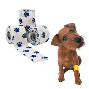 Non-woven Self Adhesive Elastic Bandage For Pet Bandage With Any Cartoon Printing