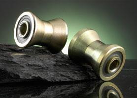 diabolo rollers track tubular rail