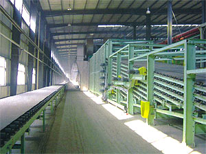 gypsum board line
