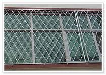 sraight razor wire mesh