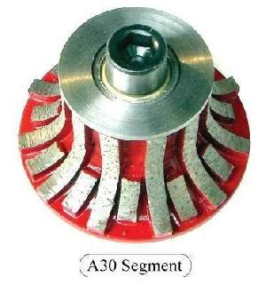 A30 Segmented Diamond Router Bits For Granite Or Marble
