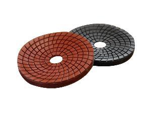 concave polishing pads stone
