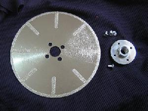 diamond coated blades flush cutting
