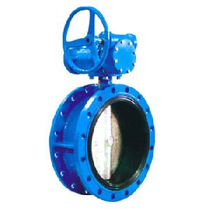 din ductile iron centric flanged butterfly valve