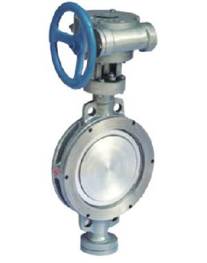 din stainless steel eccentric performance butterfly valve