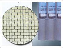 10 x10 mesh electro galvanized square wire