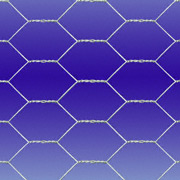 3 4 x hexagonal wire mesh