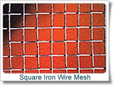 4 x mesh electro galvanized square wire