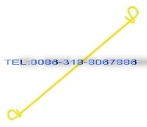 bag ties 8 pvc coated wire