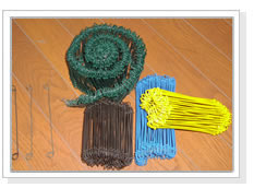 plastic coated tying wire