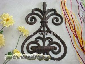 cast iron candle holder srzw 3643