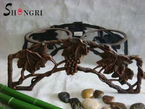cast iron flower pot holder sryh 244