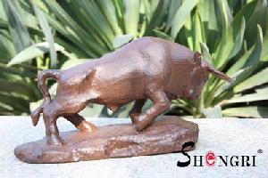 cast iron ox