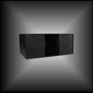 ctal horn loaded technology pro subwoofer bass system sub218s