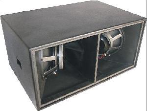 trans audio horn loaded subwoofer sw218s