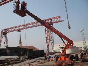 propelled telescopic boom lift 20m 22m 25m 27m 30m 32m 36m 38m