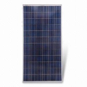 polycrystalline silicone solar panel 230w peak power anodized aluminum frame