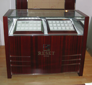 trade show jewelry display cabinets case shenzhen