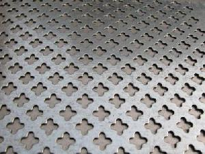 stainless steel perforated screen