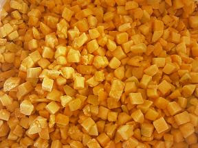 frozen apricot halves dices