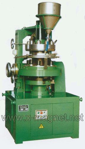 rotary dry powder molding press