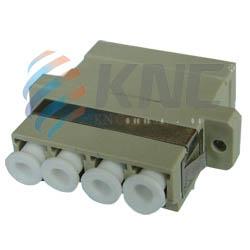 fiber optic lc mm quad adapter