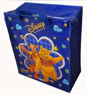 manufactory colored pp disney woven shopping bag