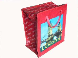london folded promtion shopping bag