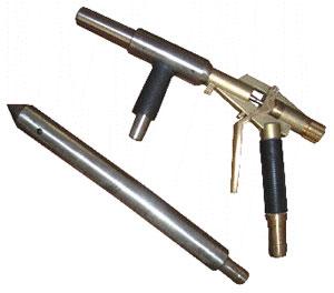 portable vacuum blast gun
