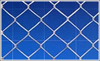 chain link fence form wire