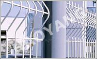 wire mesh fence steel
