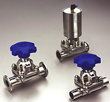 diaphragm valve sanitary pneumatic valves