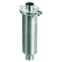 sanitary welded straight strainer filter