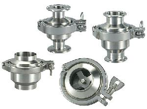 weld check valve sanitary stainless steel valves