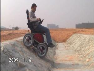 wheelchair cross obstacle