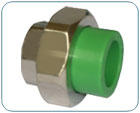 green pipe fittings